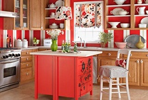 For the Home - Kitchen / Ideas for decor, DIY, color schemes, all things kitchen related. / by Lisa Lyons
