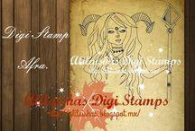 Digi Stamps en Venta Alis Scrap