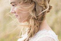 Braids with flower crowns