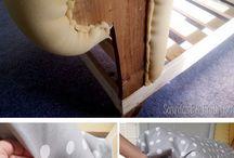 muebles renovados y decorados