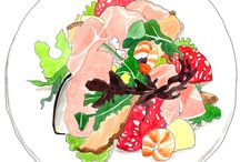 Food illustration