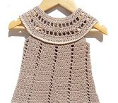 My crochet for the little ones; clothing