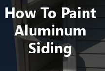 Aluminum painting and colour