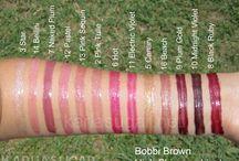 Bobbi Brown makeup products