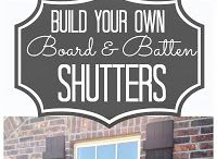 Shutters  / by heather hamsley