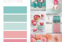 Favourite Colour palettes