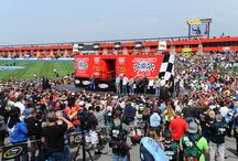 2015 Auto Club 400 / NASCAR race highlights held at Auto Club Speedway.