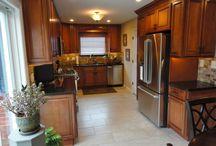 David R Kitchen Transformation / David used Forevermark's Sienna Rope cabinet line to update his kitchen.