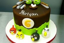 Angry Birds torták / Angry Birds torták