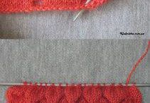 Knitting techniques and stitches / Knitting techniques