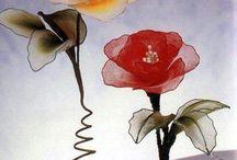 Nylonové květiny