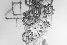 앨리스 시계