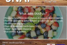 SNAP / Student Nutrition Awareness Program at U of Guelph! Ideas for raising nutrition awareness