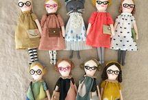 muñecas de trapo