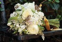 Classic creams and ivorys / A selection of Cream and ivory bridal flowers