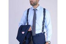 DAS006 / Look inspiration for our Knitted Skinny Tie Navy Blue: http://www.mightygoodman.nl/nl/english-fashion-gebreide-skinny-tie-navy-blauw.html