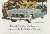 US Vintage car advertising