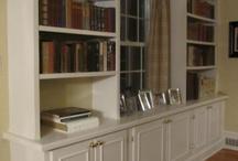 bookshelves / by Gwen Jones