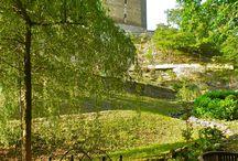 Schönburger Burggarten / The castle garden is to be used by the hotel guests exclusively. Der Burggarten steht exklusiv den Hotelgästen zur Verfügung.