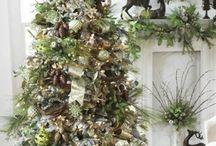 Kerstbomen / Versierde bomen