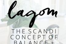 Lagom / A board all about how to practice and create lagom in your life and your house.