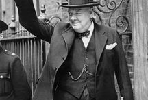 Sir Winston Churchill / Pins all about the man often described as the greatest Briton