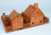 fyrstikk hus