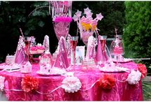 Mostly Pink and Definately Girly  / Way over the top for most. All girly and Pink and frilly & feminine. Beautiful.