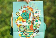 ILUSTRAS CLAU SOUZA • ILLUSTRATION / A brazilian-born illustrator based in Toronto: behance.net/claudiasouza  Estúdio + Loja + Curso de Ilustração: tenhaborogodo.com.br