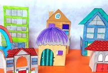 Lidé- dům - povolání