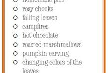 Seasonal / Variety of ideas for the different seasons.  / by Suzanne Gest