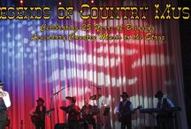 Legends of Country Music Show / Starring Larry King and the Legends Band!