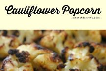 Cooked cauliflower recipes