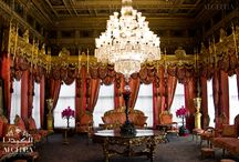 Empire Style Interior Design by ALGEDRA / Empire is considered masculine style of classicism. Was born in the time of Napoleon Bonaparte, compared with Baroque interior is more austere. Differences and peculiarities of other