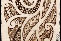 Polynesiske tatoveringer.
