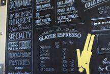 stěna coffee