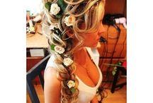 Marias nye hår