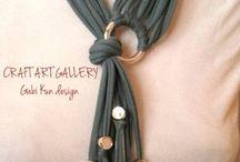 yarn art jewerly