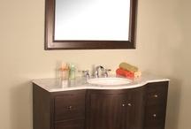 "HWM-208-50-CW 50"" Espresso Single Bathroom Vanity White Marble"