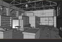 The order 1886 : Wireframe Collection