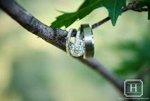 Wedding Ring Photo Ideas / Photos by Hazelwood Photography. www.cHazelwoodphotography.com  Wilmington, NC wedding photographer.