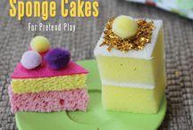 'Sponge' Cakes
