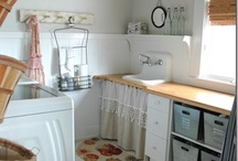 ENTRYWAY & LAUNDRY STORAGE / by Lucy @ Patina Paradise