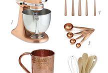Copper+Gold Viking Kitchen