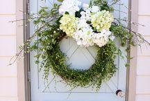 wreaths / by Amy Mrosko