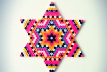 Hama / #DIY #hama #Fused