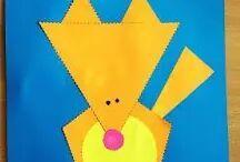 Animals paper crafts