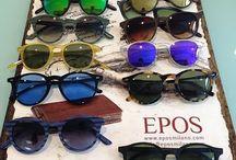 """SUNGLASSES EPOS / Epos è la collezione di occhiali """"senza tempo"""" dai mitici nomi.http://www.occhialifacili.com/brand/epos/"""