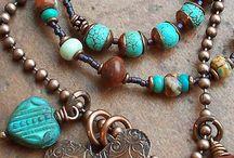 boho jewelry / by Kath