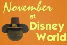 Disney vacation November 2015 / Stuff to do!